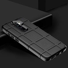 Custodia Silicone Ultra Sottile Morbida 360 Gradi Cover per Xiaomi Redmi Note 8 Pro Nero