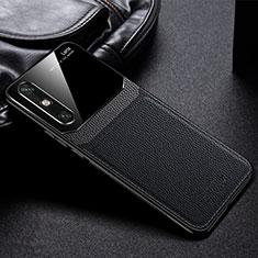 Custodia Silicone Ultra Sottile Morbida 360 Gradi Cover S01 per Huawei Enjoy 10e Nero