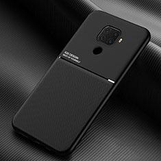Custodia Silicone Ultra Sottile Morbida 360 Gradi Cover S01 per Huawei Mate 30 Lite Nero