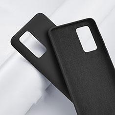 Custodia Silicone Ultra Sottile Morbida 360 Gradi Cover S01 per Huawei P40 Pro Nero