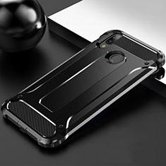 Custodia Silicone Ultra Sottile Morbida 360 Gradi Cover S01 per Huawei Y9 (2019) Nero