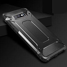 Custodia Silicone Ultra Sottile Morbida 360 Gradi Cover S01 per Samsung Galaxy S10e Nero
