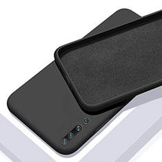 Custodia Silicone Ultra Sottile Morbida 360 Gradi Cover S01 per Xiaomi Mi 10 Nero
