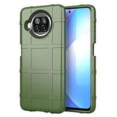 Custodia Silicone Ultra Sottile Morbida 360 Gradi Cover S01 per Xiaomi Mi 10T Lite 5G Verde Militare