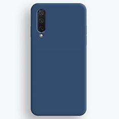 Custodia Silicone Ultra Sottile Morbida 360 Gradi Cover S01 per Xiaomi Mi A3 Blu