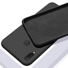 Custodia Silicone Ultra Sottile Morbida 360 Gradi Cover S01 per Xiaomi Redmi Note 7 Pro Nero