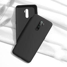 Custodia Silicone Ultra Sottile Morbida 360 Gradi Cover S01 per Xiaomi Redmi Note 8 Pro Nero
