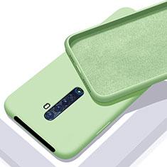 Custodia Silicone Ultra Sottile Morbida 360 Gradi Cover S02 per Oppo Reno2 Verde