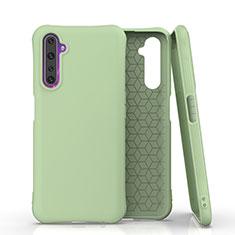 Custodia Silicone Ultra Sottile Morbida 360 Gradi Cover S02 per Realme 6 Pro Verde