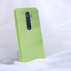 Custodia Silicone Ultra Sottile Morbida 360 Gradi Cover S03 per Oppo Reno2 Verde