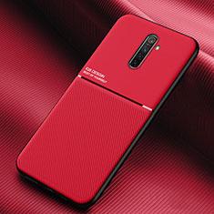 Custodia Silicone Ultra Sottile Morbida 360 Gradi Cover S03 per Realme X2 Pro Rosso