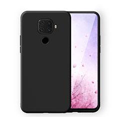 Custodia Silicone Ultra Sottile Morbida 360 Gradi Cover S06 per Huawei Mate 30 Lite Nero