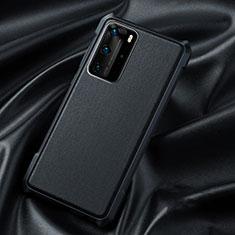 Custodia Silicone Ultra Sottile Morbida 360 Gradi Cover S06 per Huawei P40 Pro Nero