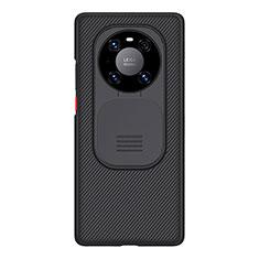 Custodia Silicone Ultra Sottile Morbida 360 Gradi D01 per Huawei Mate 40 Pro Nero