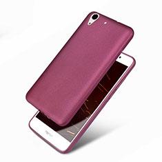Custodia Silicone Ultra Sottile Morbida 360 Gradi per Huawei Honor Holly 3 Viola