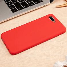 Custodia Silicone Ultra Sottile Morbida Cover A01 per Oppo K1 Rosso