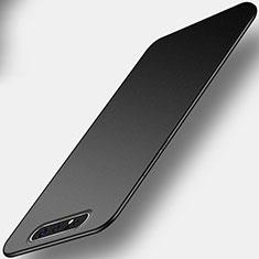 Custodia Silicone Ultra Sottile Morbida Cover C01 per Samsung Galaxy A80 Nero