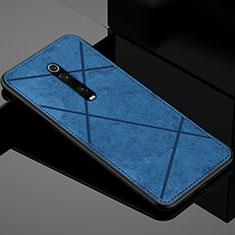 Custodia Silicone Ultra Sottile Morbida Cover C03 per Xiaomi Mi 9T Pro Blu