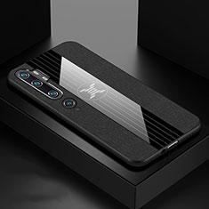 Custodia Silicone Ultra Sottile Morbida Cover C03 per Xiaomi Mi Note 10 Nero