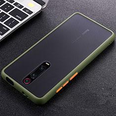 Custodia Silicone Ultra Sottile Morbida Cover C05 per Xiaomi Mi 9T Verde