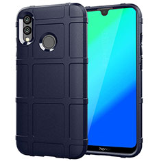 Custodia Silicone Ultra Sottile Morbida Cover Fronte e Retro 360 Gradi per Huawei Honor 10 Lite Blu