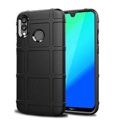 Custodia Silicone Ultra Sottile Morbida Cover Fronte e Retro 360 Gradi per Huawei P Smart (2019) Nero