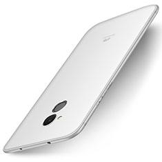 Custodia Silicone Ultra Sottile Morbida Cover S01 per Huawei Enjoy 6S Bianco