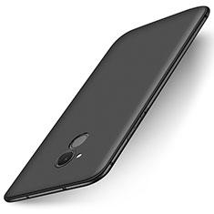 Custodia Silicone Ultra Sottile Morbida Cover S01 per Huawei Enjoy 6S Nero