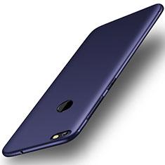Custodia Silicone Ultra Sottile Morbida Cover S01 per Huawei Enjoy 7 Blu