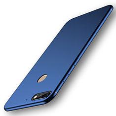Custodia Silicone Ultra Sottile Morbida Cover S01 per Huawei Enjoy 8 Blu