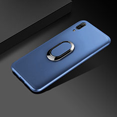 Custodia Silicone Ultra Sottile Morbida Cover S01 per Huawei Enjoy 9e Blu