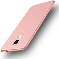 Custodia Silicone Ultra Sottile Morbida Cover S01 per Huawei GR5 Mini Oro Rosa