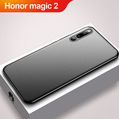 Custodia Silicone Ultra Sottile Morbida Cover S01 per Huawei Honor Magic 2 Nero