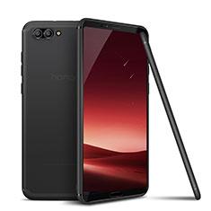 Custodia Silicone Ultra Sottile Morbida Cover S01 per Huawei Honor V10 Grigio