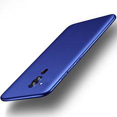 Custodia Silicone Ultra Sottile Morbida Cover S01 per Huawei Mate 20 Lite Blu
