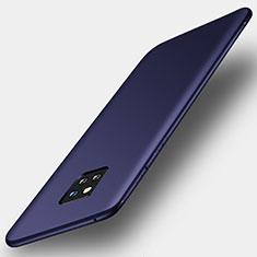 Custodia Silicone Ultra Sottile Morbida Cover S01 per Huawei Mate 20 Pro Blu