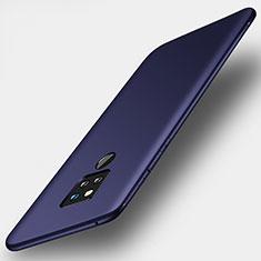 Custodia Silicone Ultra Sottile Morbida Cover S01 per Huawei Mate 20 X 5G Blu