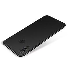 Custodia Silicone Ultra Sottile Morbida Cover S01 per Huawei P Smart+ Plus Nero