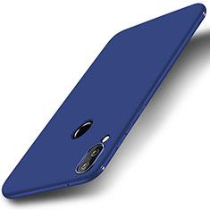 Custodia Silicone Ultra Sottile Morbida Cover S01 per Huawei P20 Lite Blu