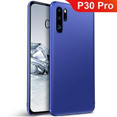 Custodia Silicone Ultra Sottile Morbida Cover S01 per Huawei P30 Pro New Edition Blu