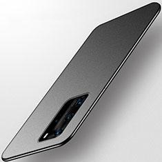 Custodia Silicone Ultra Sottile Morbida Cover S01 per Huawei P40 Pro Nero