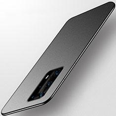 Custodia Silicone Ultra Sottile Morbida Cover S01 per Huawei P40 Pro+ Plus Nero