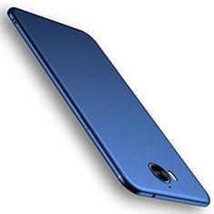 Custodia Silicone Ultra Sottile Morbida Cover S01 per Huawei Y6 (2017) Blu