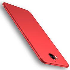 Custodia Silicone Ultra Sottile Morbida Cover S01 per Huawei Y6 (2017) Rosso