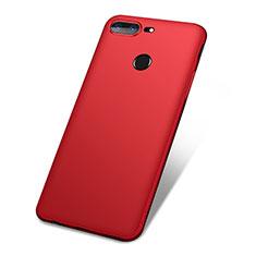 Custodia Silicone Ultra Sottile Morbida Cover S01 per OnePlus 5T A5010 Rosso