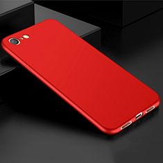 Custodia Silicone Ultra Sottile Morbida Cover S01 per Oppo A71 Rosso