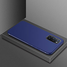 Custodia Silicone Ultra Sottile Morbida Cover S01 per Oppo A72 Blu