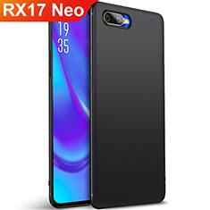 Custodia Silicone Ultra Sottile Morbida Cover S01 per Oppo RX17 Neo Nero