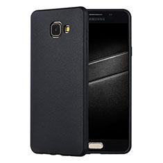 Custodia Silicone Ultra Sottile Morbida Cover S01 per Samsung Galaxy A7 (2016) A7100 Nero
