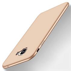 Custodia Silicone Ultra Sottile Morbida Cover S01 per Samsung Galaxy A8 (2016) A8100 A810F Oro